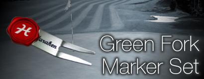 Green Fork Ball Marker Set