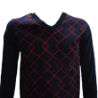 DCM16S004 Mens V Neck Knit