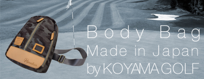 (日本語) Body Bag Made in Japan Model by KOYAMA GOLF
