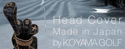 Head Cover Set Made in Japan Model by KOYAMA GOLF