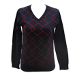 DCL16S004 Ladies v-neck knit