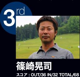 3rd 篠崎晃司