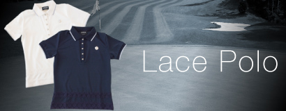 Ladies Lace Polo