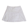 DCL18S003 Back pleat skirt
