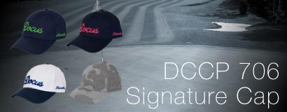 (日本語) DCCP706 Signature Cap