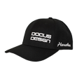 DCCP707 DOCUS DESIGN Cap Black/White
