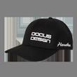 DCCP707 DOCUS DESIGNキャップ Black/White