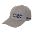 DCCP707 DOCUS DESIGN Cap Light Gray/Navy