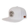 DCCP709 Country Flat Cap White/Gray