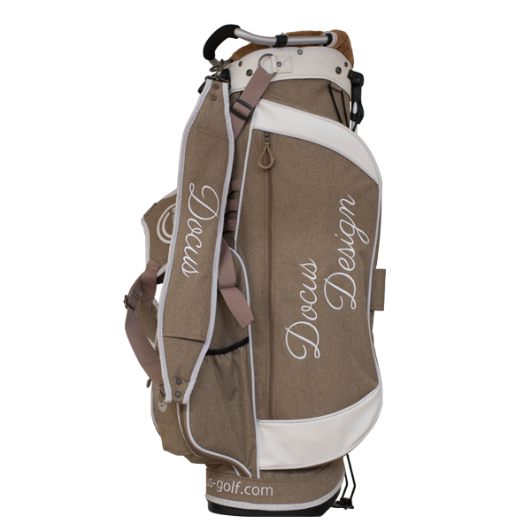 Stand Bag DCC736 Light Brown/White