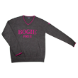 DCM18A001 V-Neck Sweater【BOGIE FREE】 Charcoal