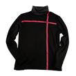 DCM18A005 High Neck Pullover Black