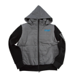 DCM18A009 Hooded Volume Jacket Gray