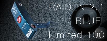 (日本語) RAIDEN 2.1 BLUE LIMITED 100
