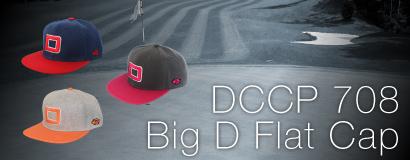 (日本語) BIG D FLAT CAP DCCP708