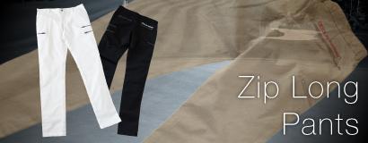 (日本語) DOCUS ZIP LONG PANTS DCM20S007