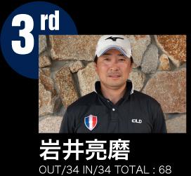 3rd 岩井 亮磨